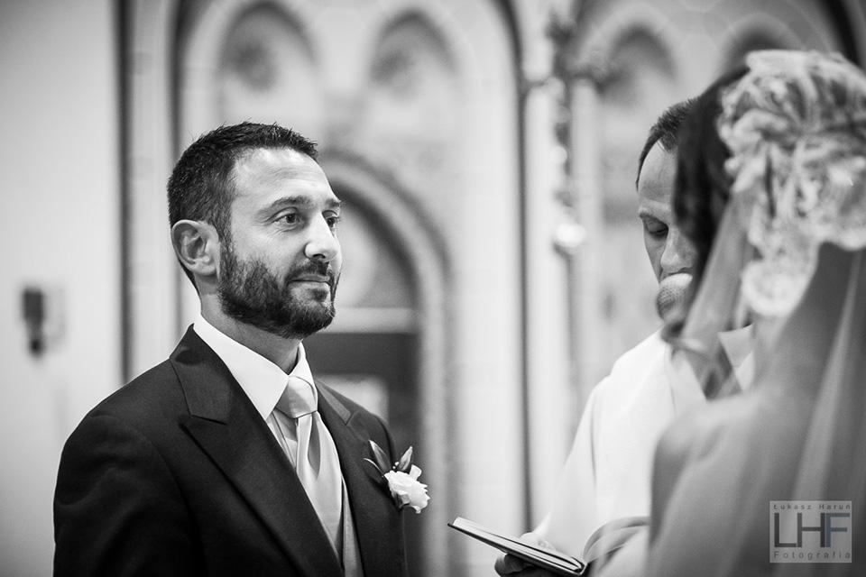 przysięga ślubna w kościele w szczecinku