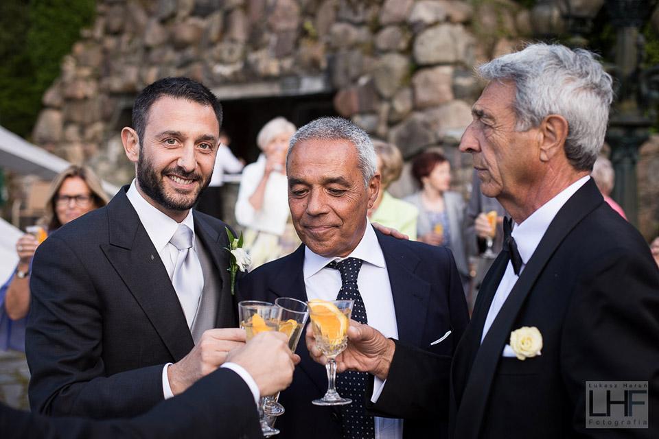 toast podczas wesela