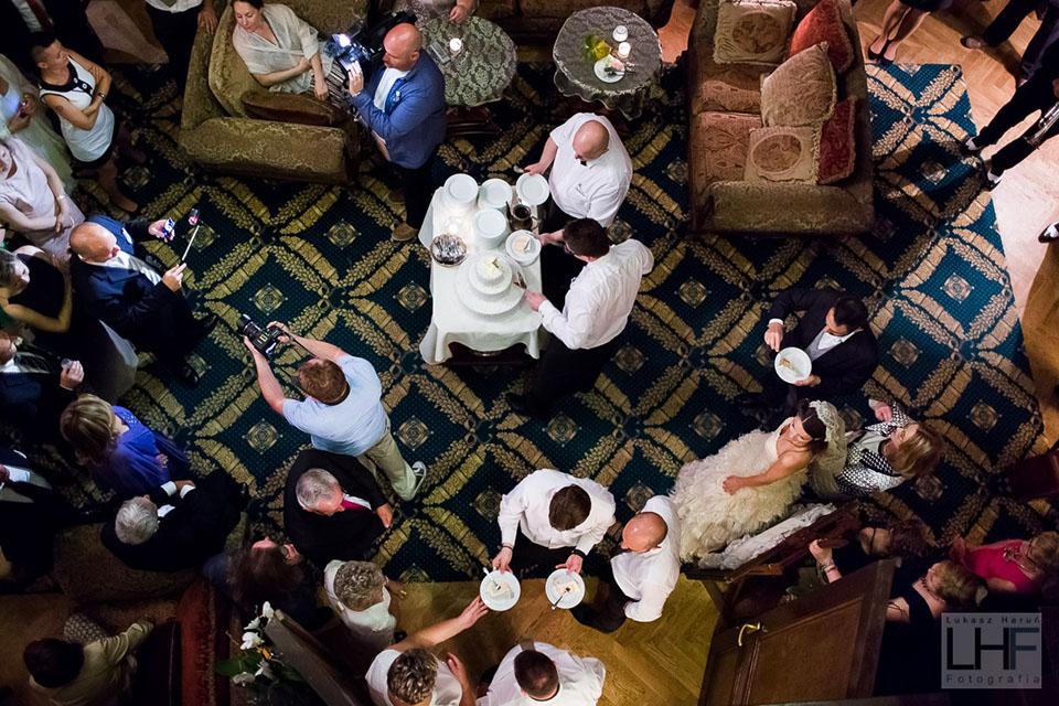 nietypowe ujęcia podczas wesela