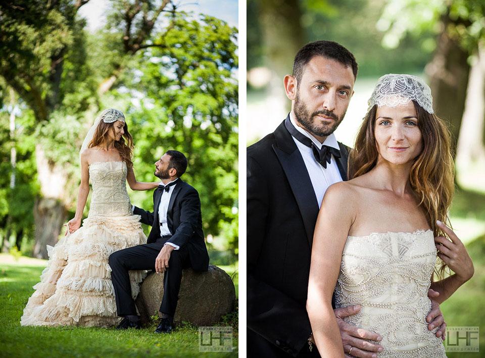 Sesja ślubna w Pałacu Bursztynowym