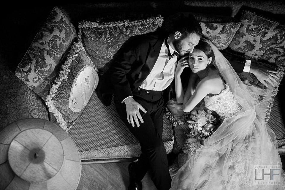 Sesja ślubna w pałacu Szczecinek