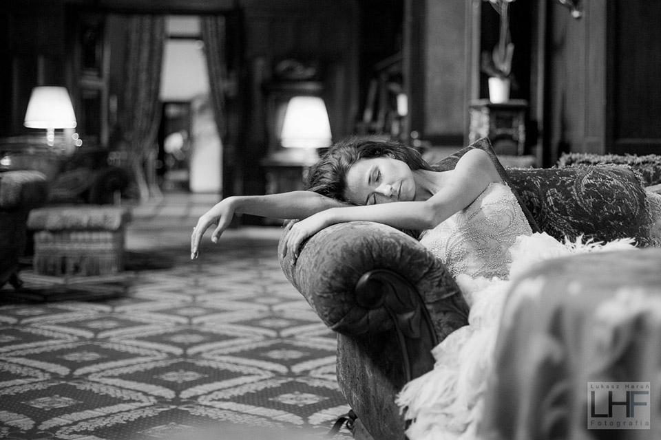 Zmęczona panna młoda