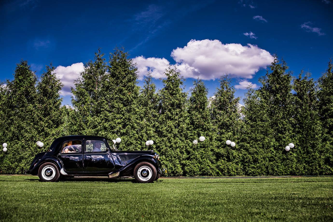 samochód na ślub szczecinek