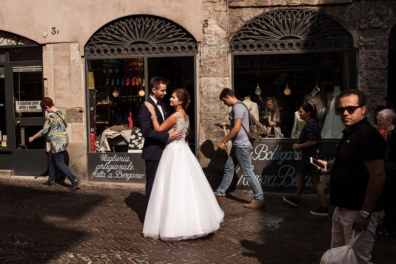 fotografia ślubna w bergamo
