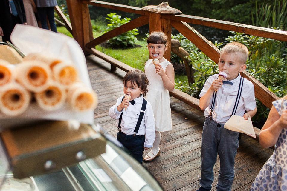 lody dla dzieci na weselu