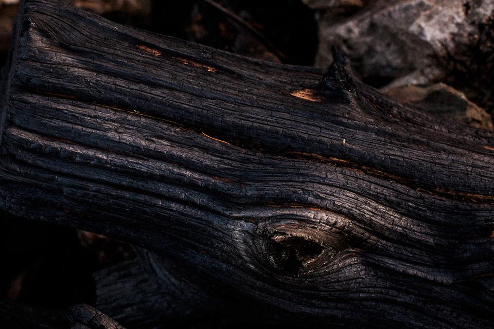 sesja na spalonej górze bray head