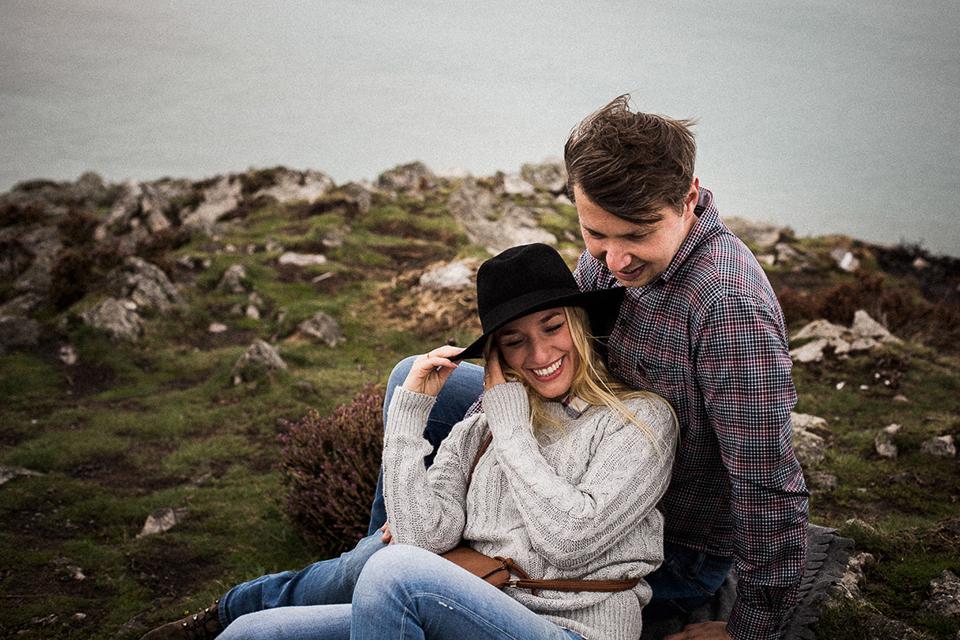 naturalna sesja dla pary