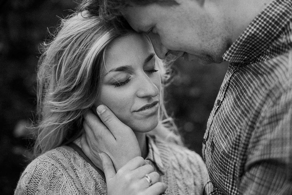 romantyczna sesja narzeczeńska