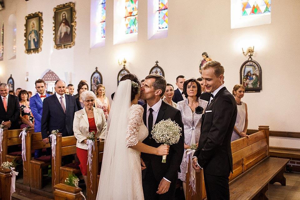 początek ceremonii ślubnej w barliku