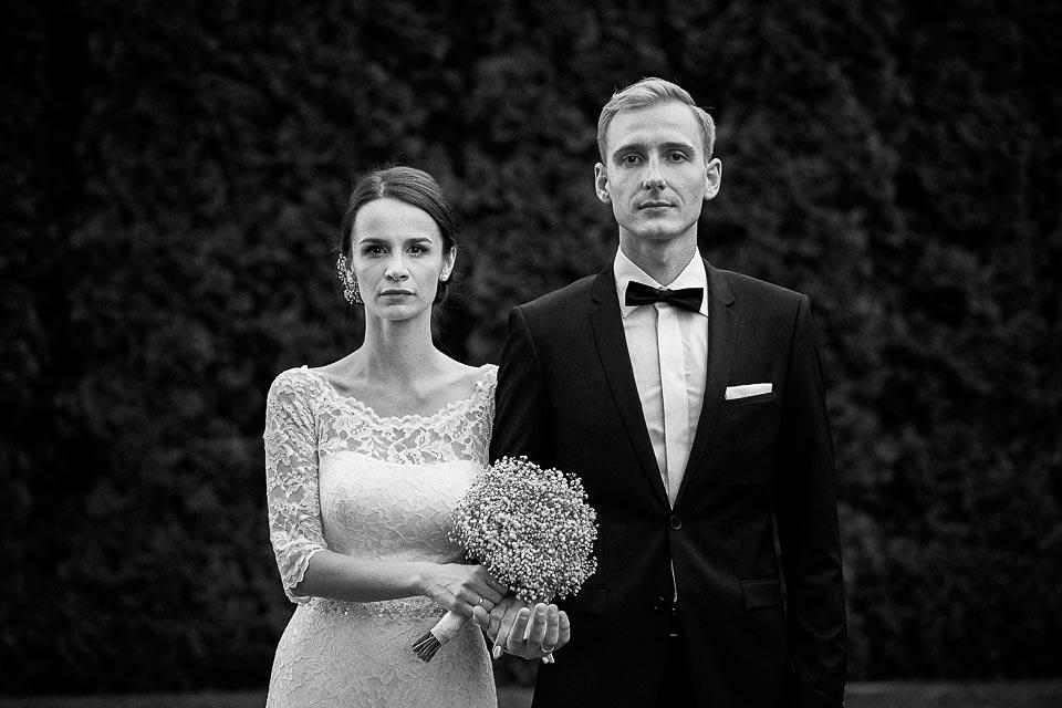 klasyczny portret pary młodej