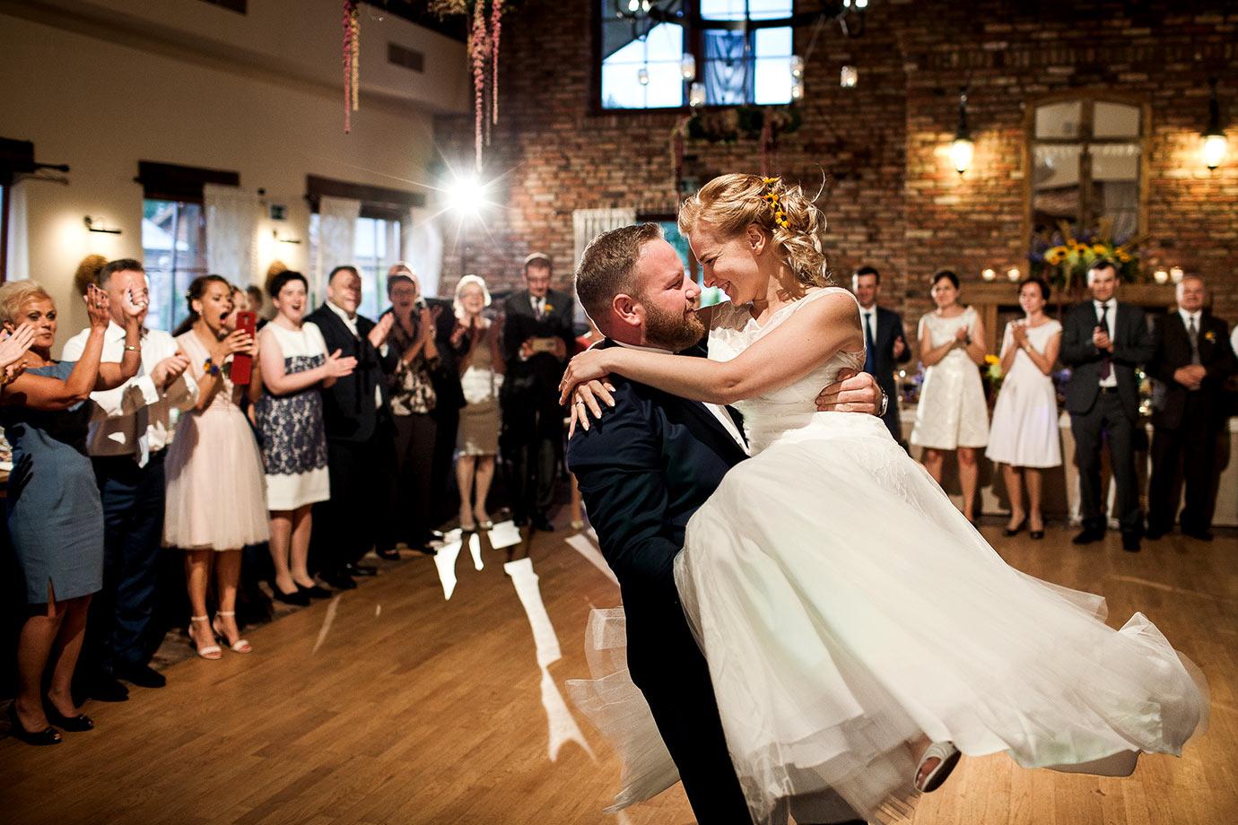 przyjęcie weselne w gościńcu nad iną