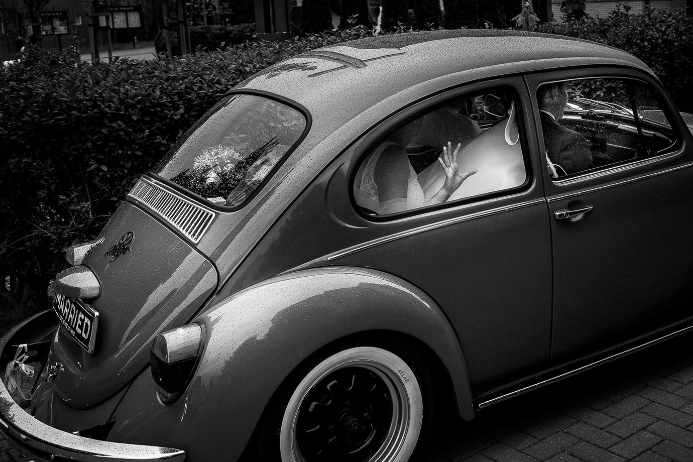 samochód do ślubu volkswagen garbus