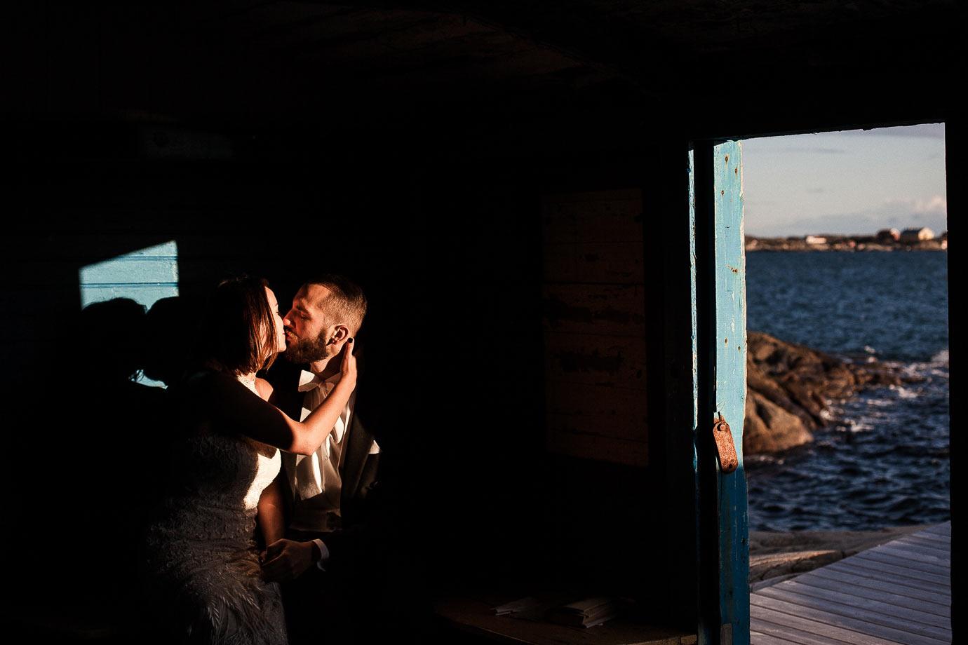 piękne światło podczas sesji ślubnej