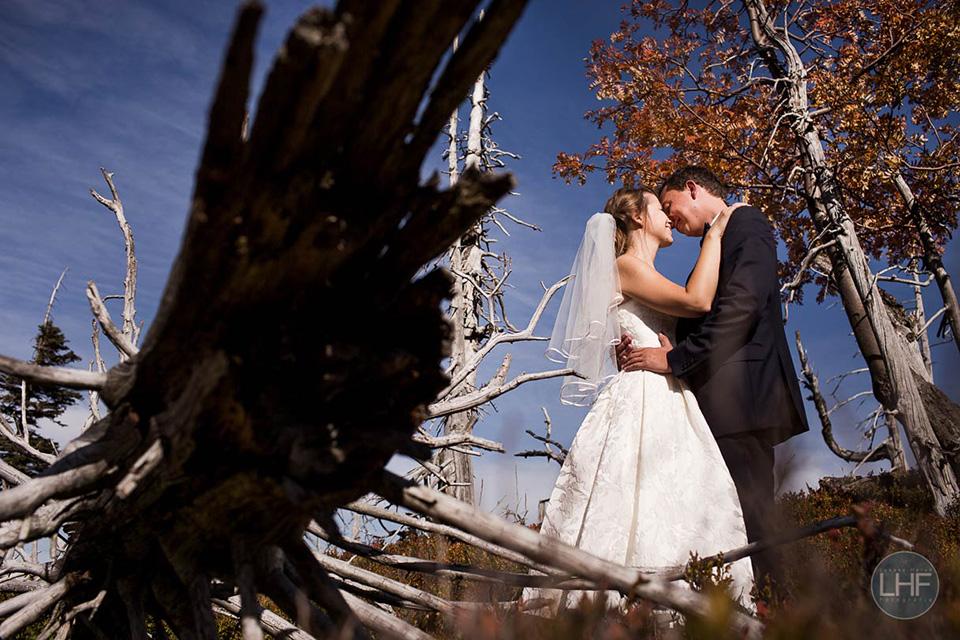 jesienna sesja ślubna w karkonoszach