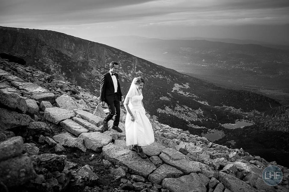 fotografia ślubna w polskich górach