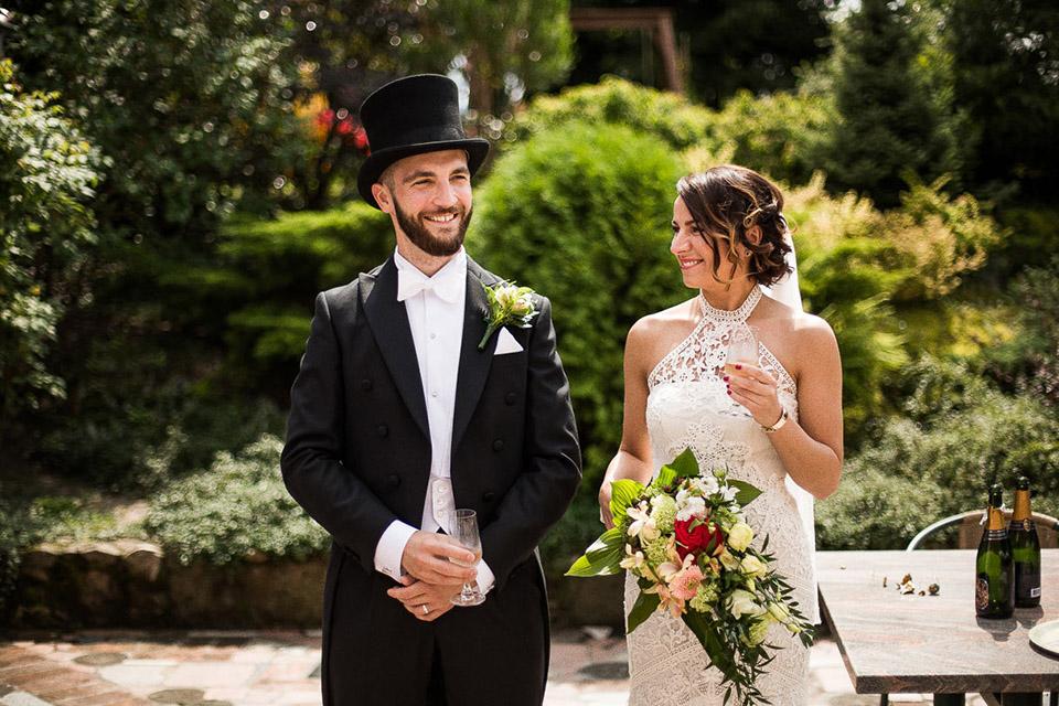zdjęcie ślubne w klasycznym stylu
