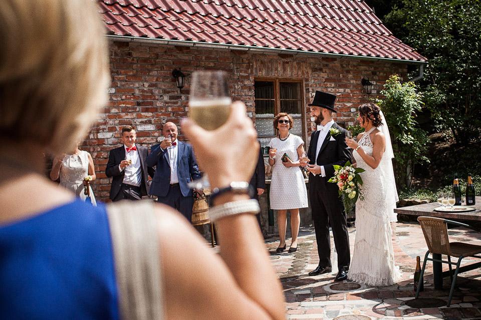szampan na ślub