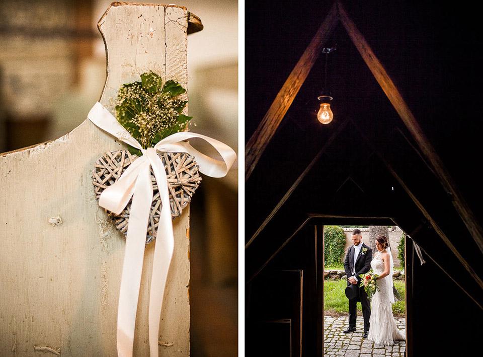 dekoracje ślubne w kosciele