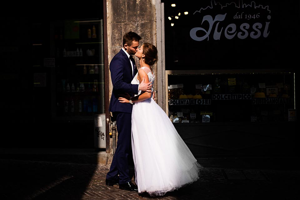 światło i cień w fotografii ślubnej