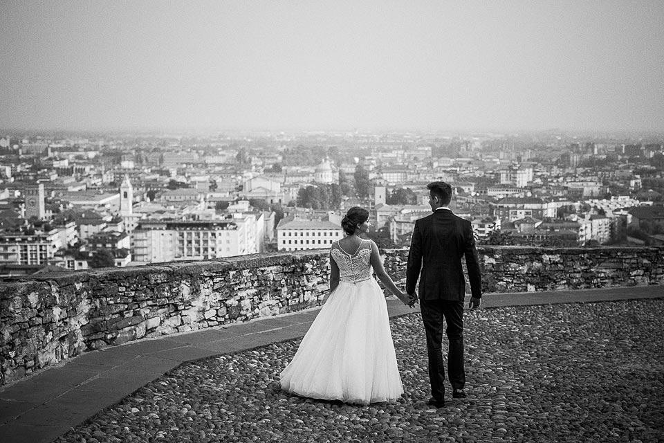 fotografia ślubna w pięknym mieście