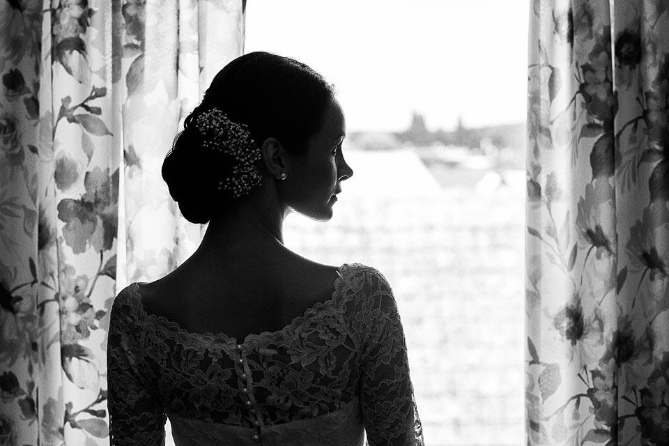 portret panny młodej. fotografia ślubna