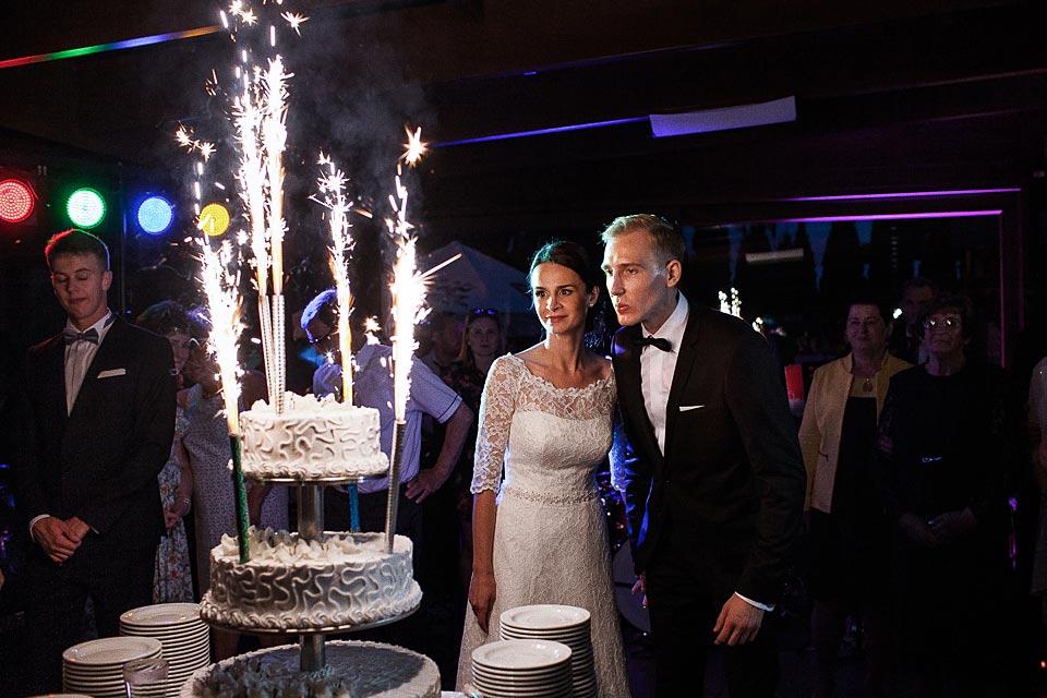 tort weselny w hotelu barlinek