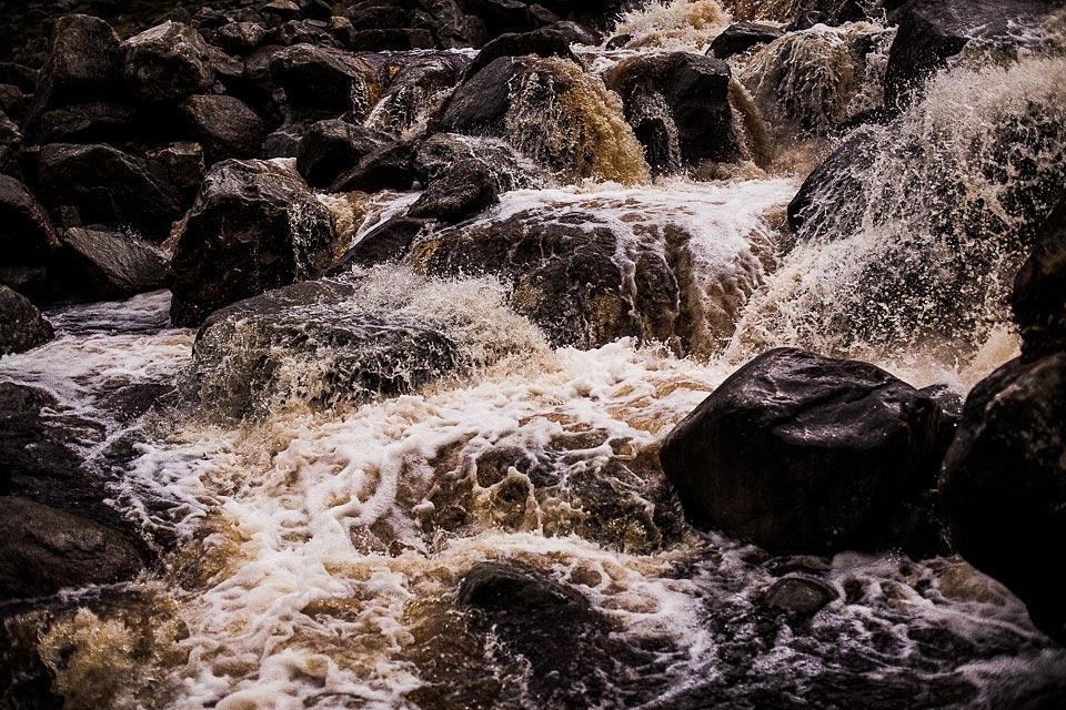 potok górski w wicklow park