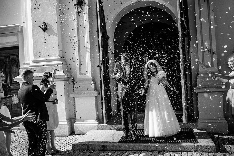 piękny kościół na ślub