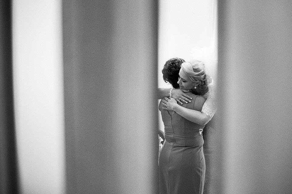 wzruszajace chwile w dniu ślubu
