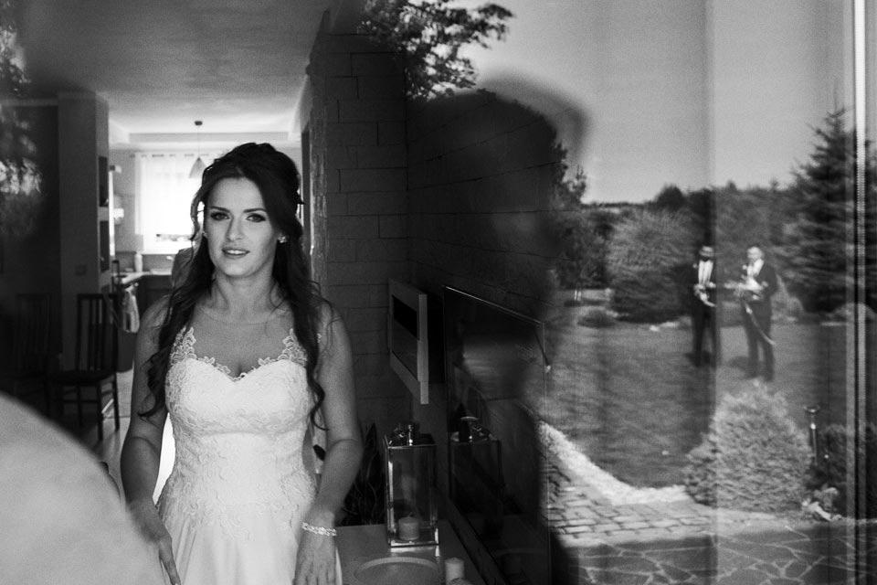 wieloplanowa fotografia ślubna