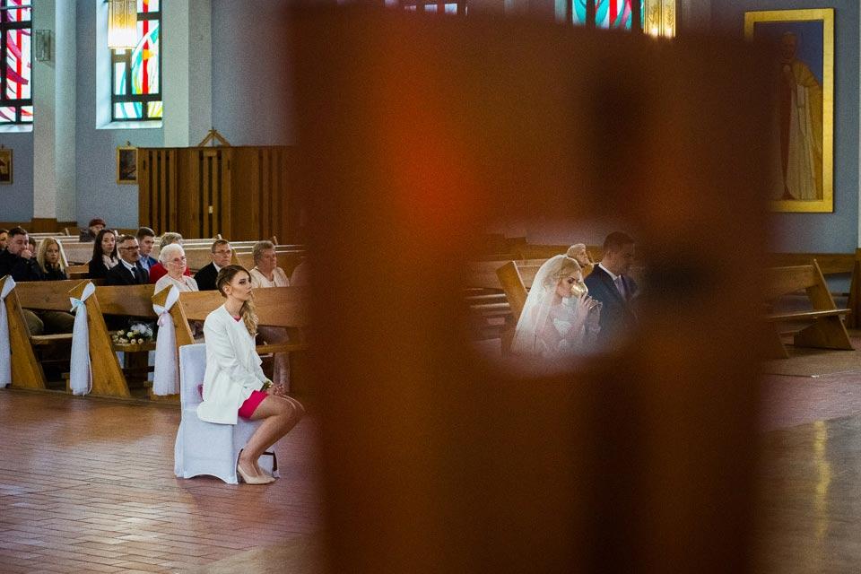 komunia podczas ślubu