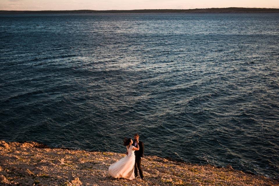 sesja plenerowa na chorwackim wybrzeżu