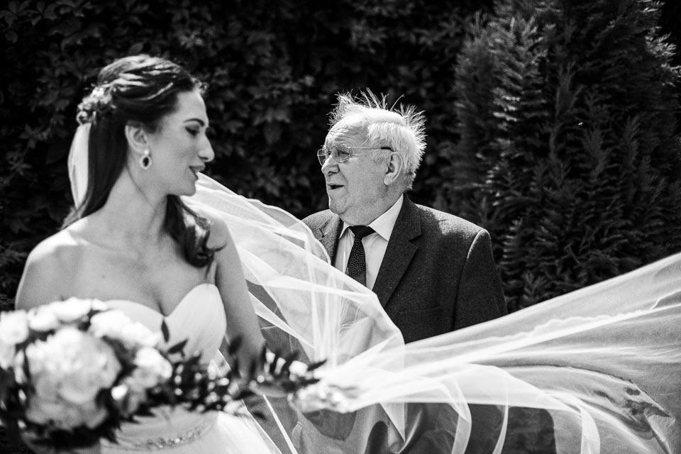 panna młoda z dziadkiem