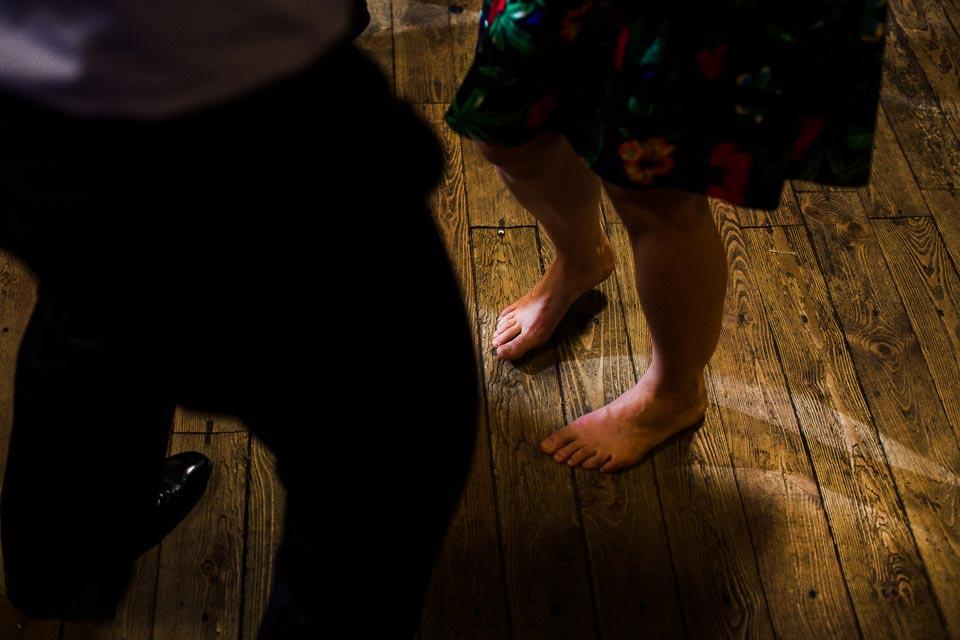 taniec bez butów