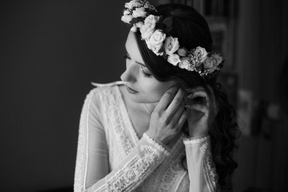 kolczyki do ślubu