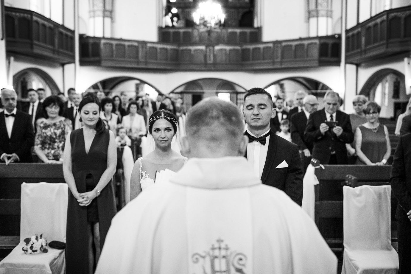 emocje przed przysięgą ślubną