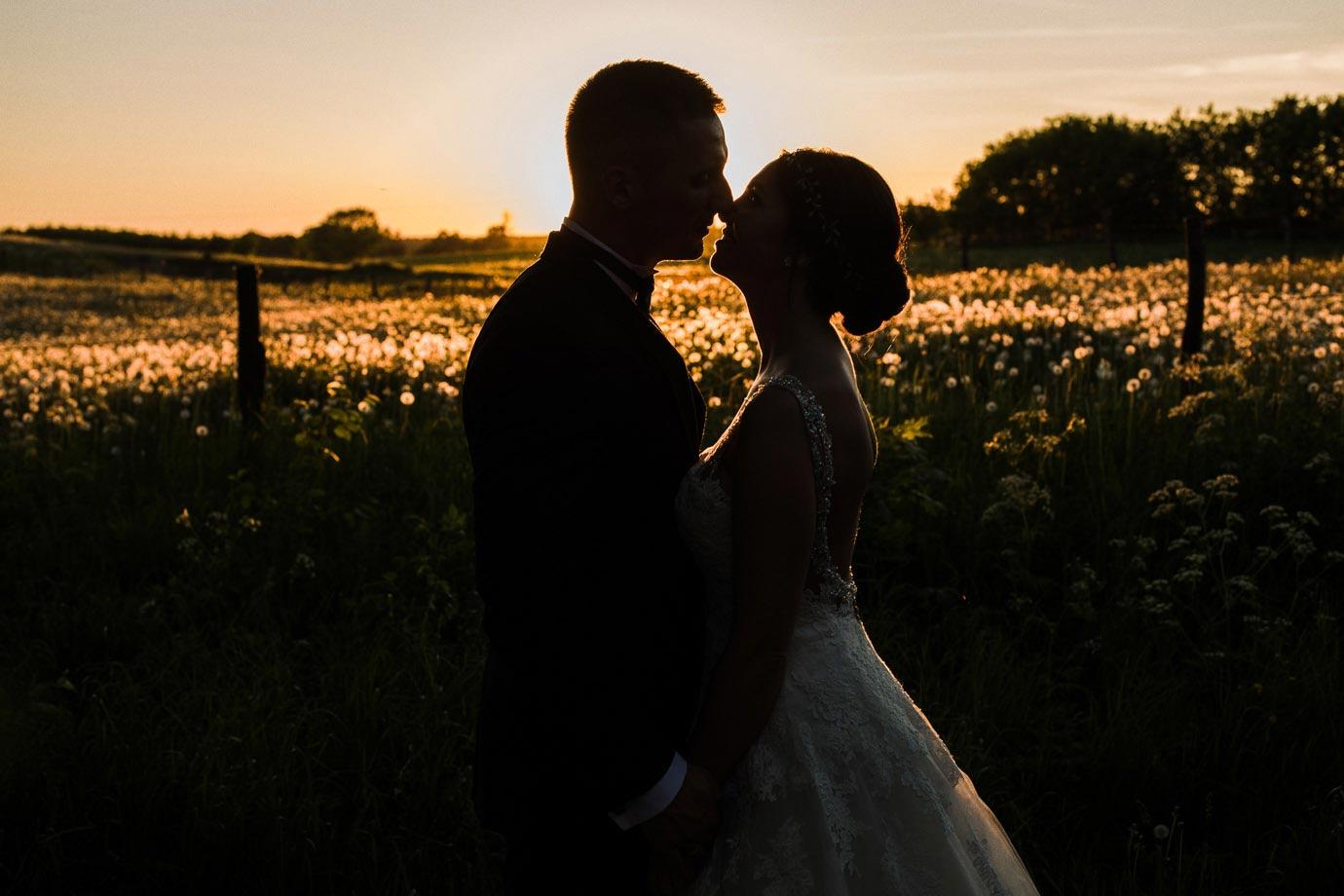 Sesja ślubna w dniu slubu