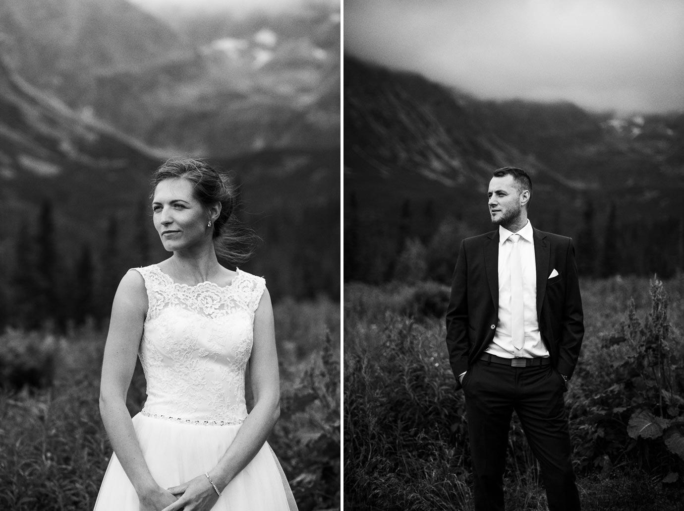 Klasyczny portret ślubny