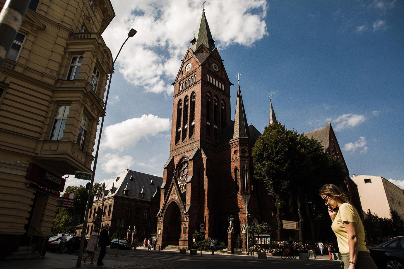 ładny kościół w szczecinie