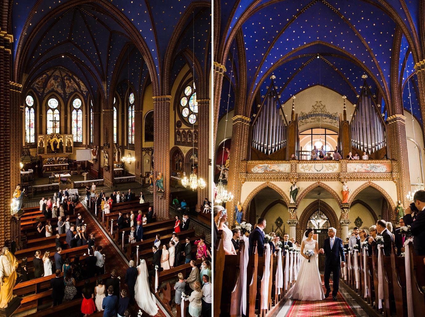 Piękny kośció w szczecinie