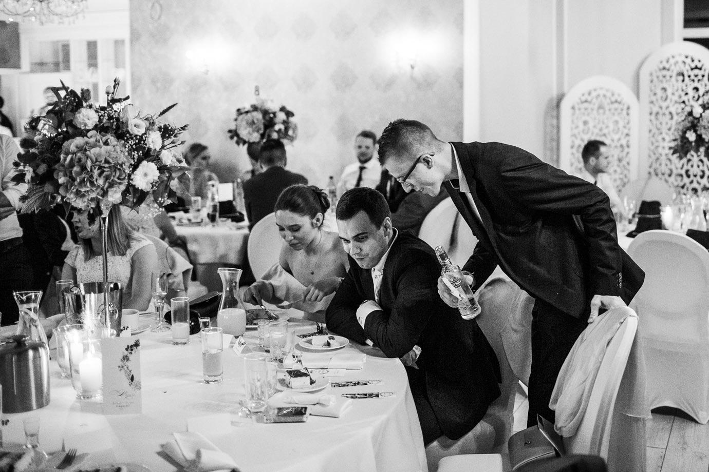 alkochol na weselu