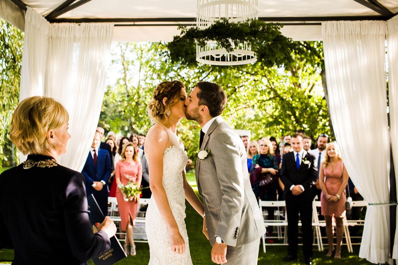 ślub na świeżym powietrzu