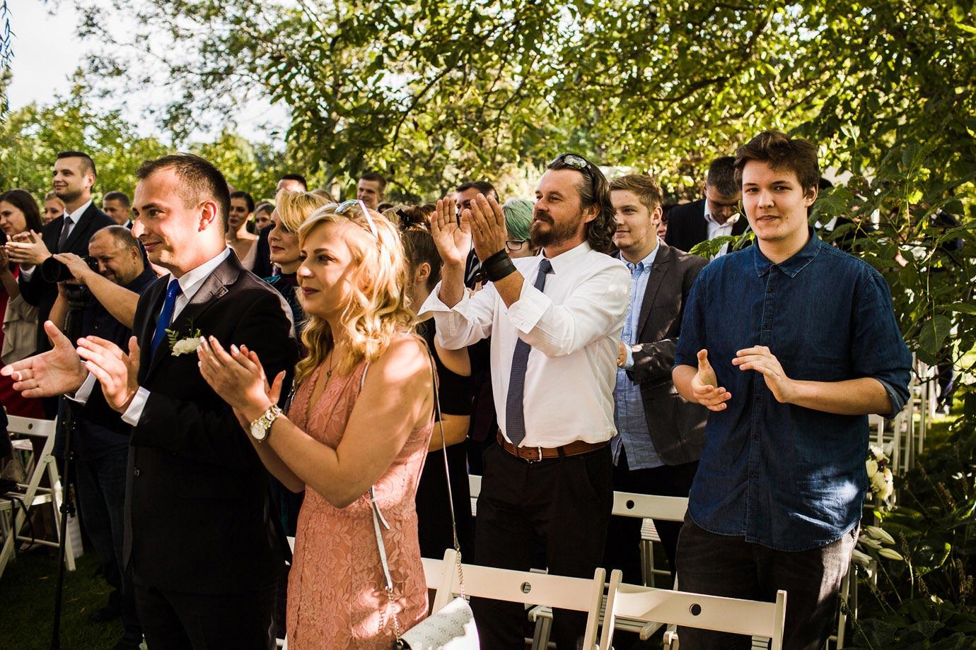 piękna ceremonia ślubna