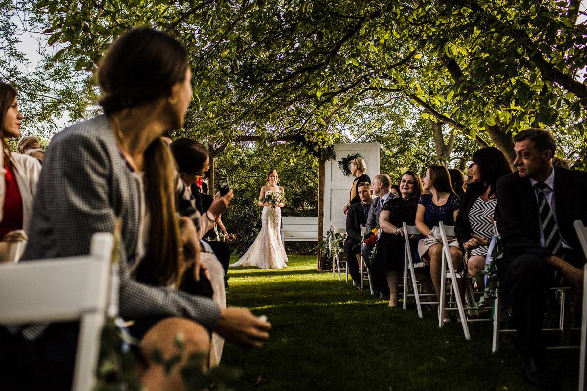 ślub w białej wstążce