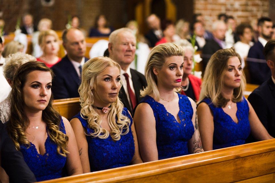 druchny na ślubie