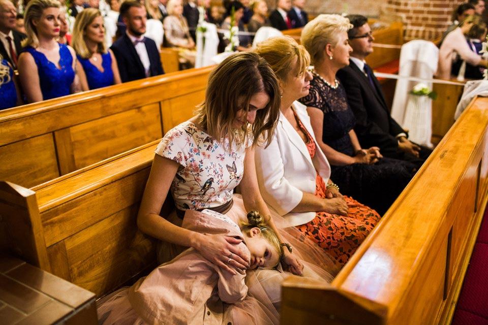 ceremonia ślubna w wolinie