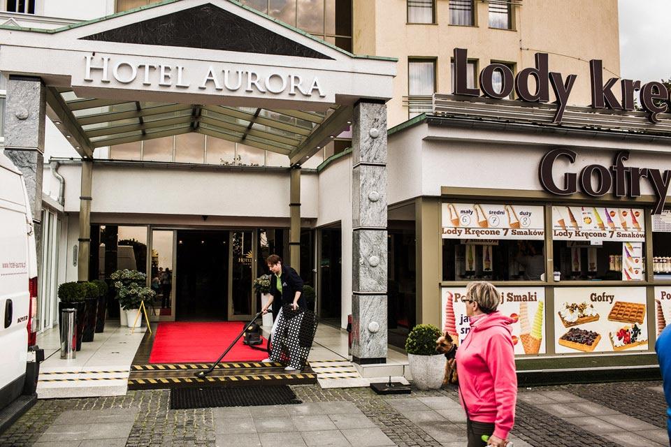 hotel Aurora w Międzyzdrojach