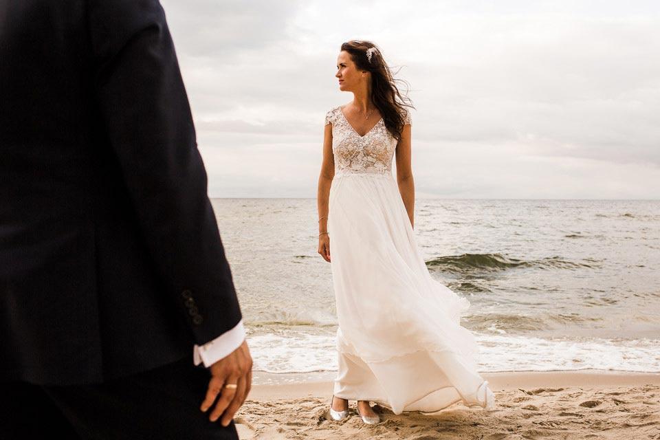 sesja ślubna w dniu ślubu