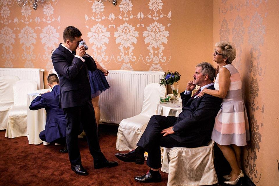 instax na weselu