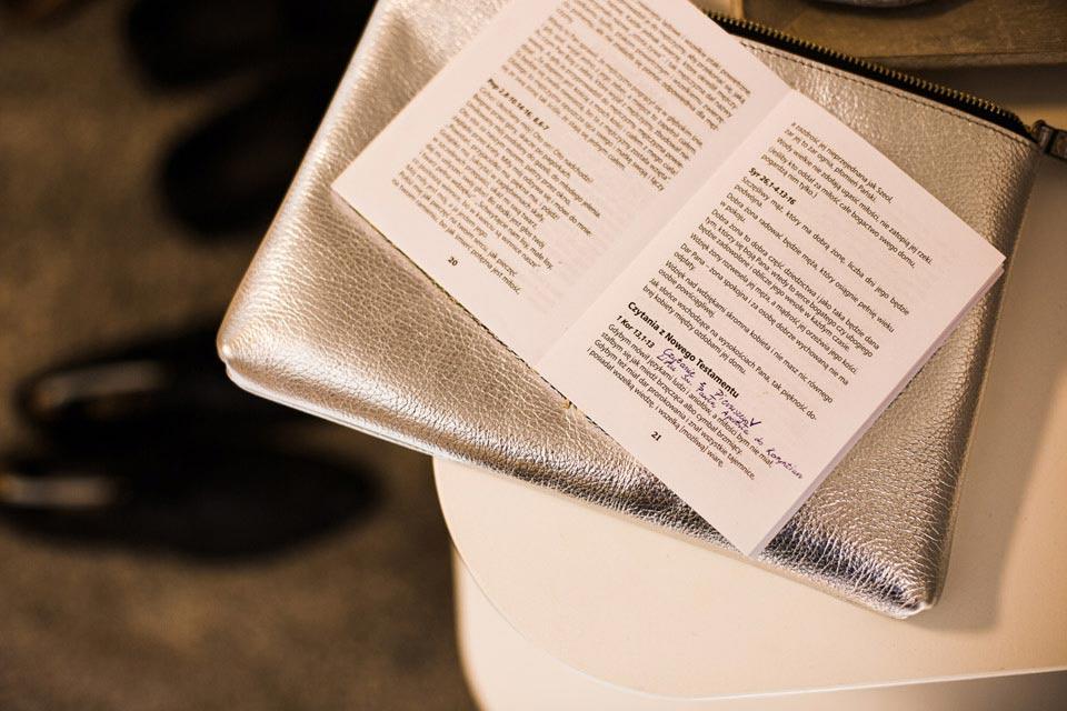 czytanie podczas ślubu